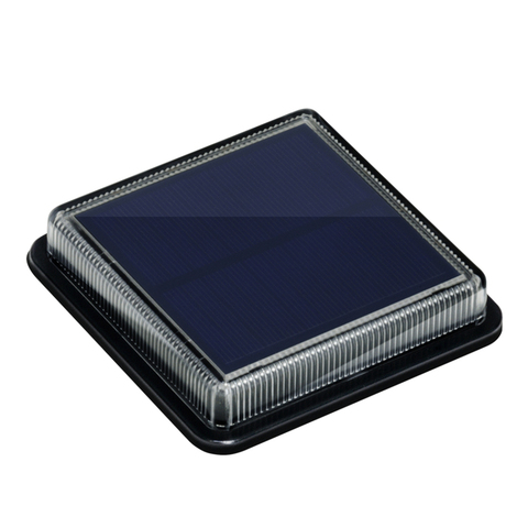 8 pces led solar lampada ao ar livre a prova dwaterproof agua da escada projector