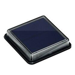 8PCS LED Solar Lampe Im Freien Wasserdichte Treppen Flutlicht Wand Embedded garten decor Beleuchtung IP68 Dicht Abdichten Deck licht