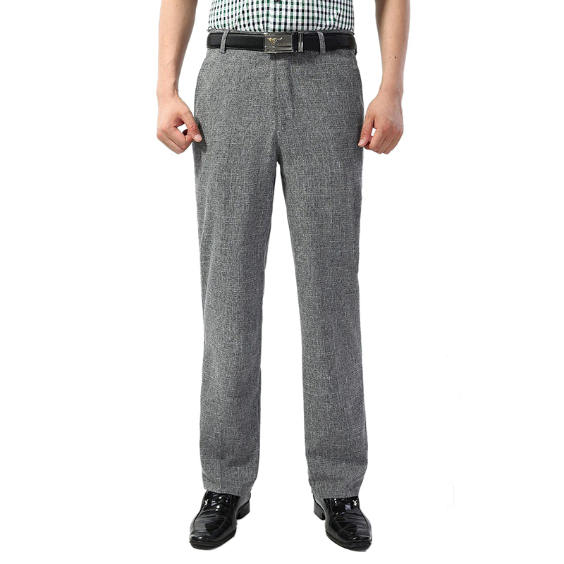 Men Classic Business Long Pants  1