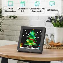 Alarm-Clock Sign-Decor Programmable Neon-Light Led-Display Digital-Photo-Frame Pixel-Art