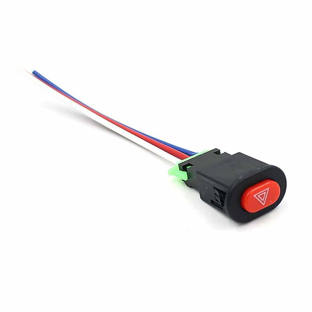 Moto veicolo elettrico modificato doppio flash di avvertimento interruttore doppio salto