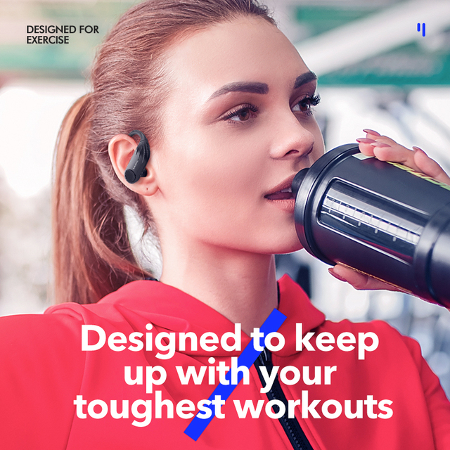 TWS Pro Workout Earbuds