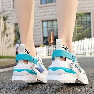 Image 3 - Shofort Vrouwen Schoenen Fashion Casual Wild Sneakers Trainers Chaussure Vrouwelijke Dikke Platform Schoenen Comfortabel Voor Lente Herfst