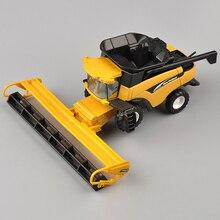Collection1/64 весы желтый новая голландская CR960 комбайн 13595 Сплав ABS сельскохозяйственный автомобиль игрушки для детей