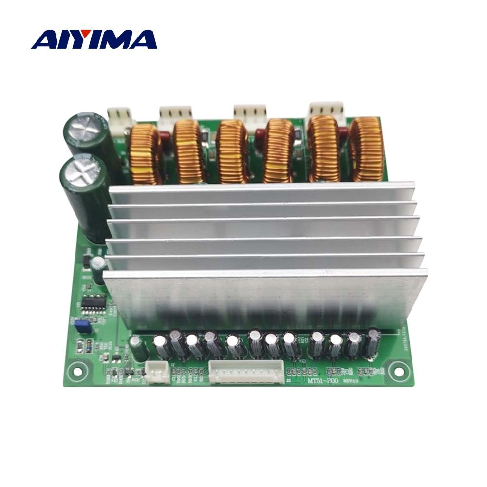AIYIMA-placa amplificadora de potencia TDA8954, amplificador de sonido de 6 canales, 220Wx6, Audio Amp DIY 5,1, cine en casa