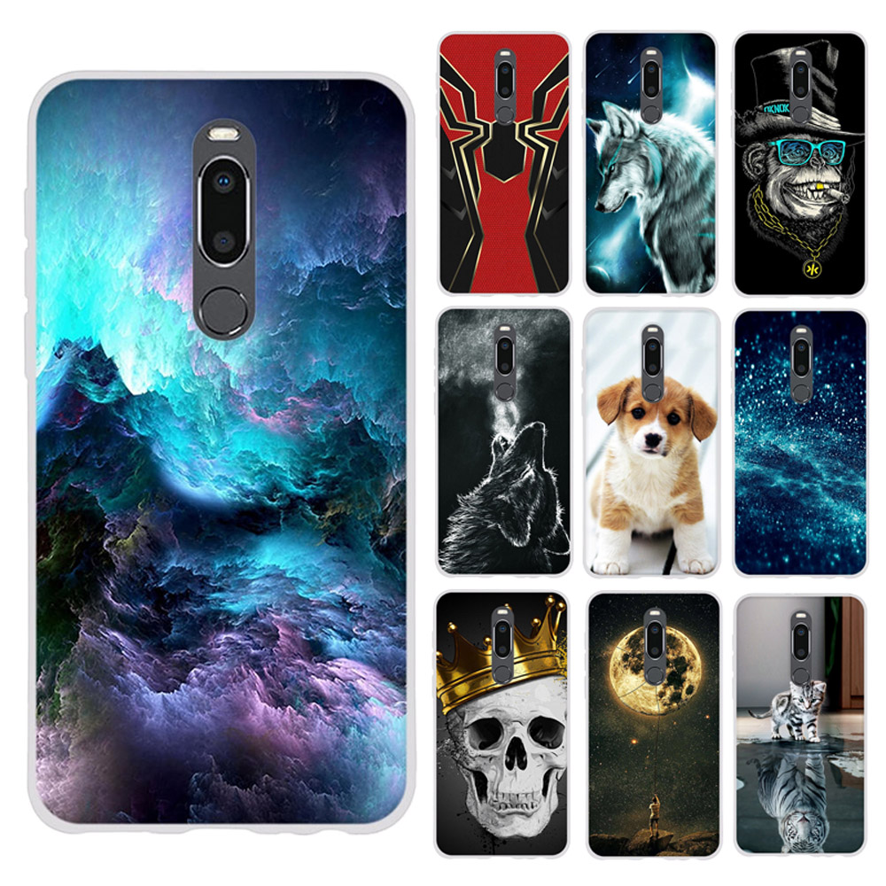 For Meizu V8 Pro Case Soft TPU Cover For Meizu M8 Coque Pattern Housing Case For Meizu V8 Pro Shell 3D Bumper 5.7 inch Cover
