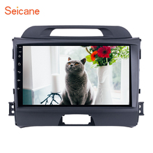 Seicane 2din Android 8.1/9.0 9 inch Wifi Head Unit Radio Audio GPS Multimedia Player For 2010-2012 2013 2014 2015 KIA Sportage