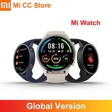 Xiaomi – montre connectée Mi, Bluetooth 5.0, GPS, GLONASS, moniteur de fréquence cardiaque et d'oxygène dans le sang, étanche 5atm, couleur, Version internationale