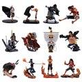 12 видов стилей Аниме Одна деталь будет Merry Луффи Сабо Ace Джинбей голень измельчитель Mihawk ПВХ фигурку Кукла коллекционная модель игрушки