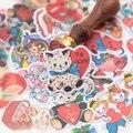 16 шт. милые Мультяшные наклейки с животными и младенцами s/наклейки для скрапбукинга s/декоративные наклейки/творческие фотоальбомы