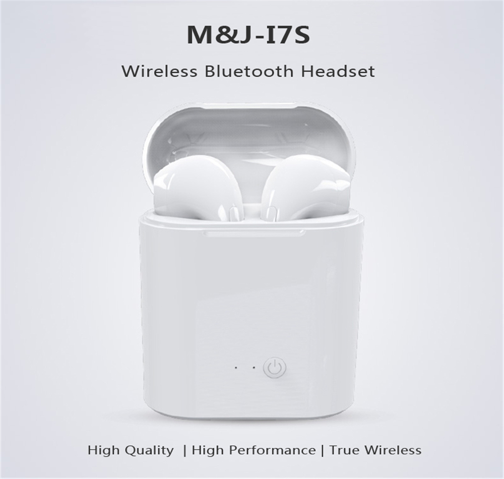 Hot Sale I7s TWS Bluetooth Earphone Stereo Earbud Wireless Bluetooth Earphones In-ear Headsets For All Smart Phone
