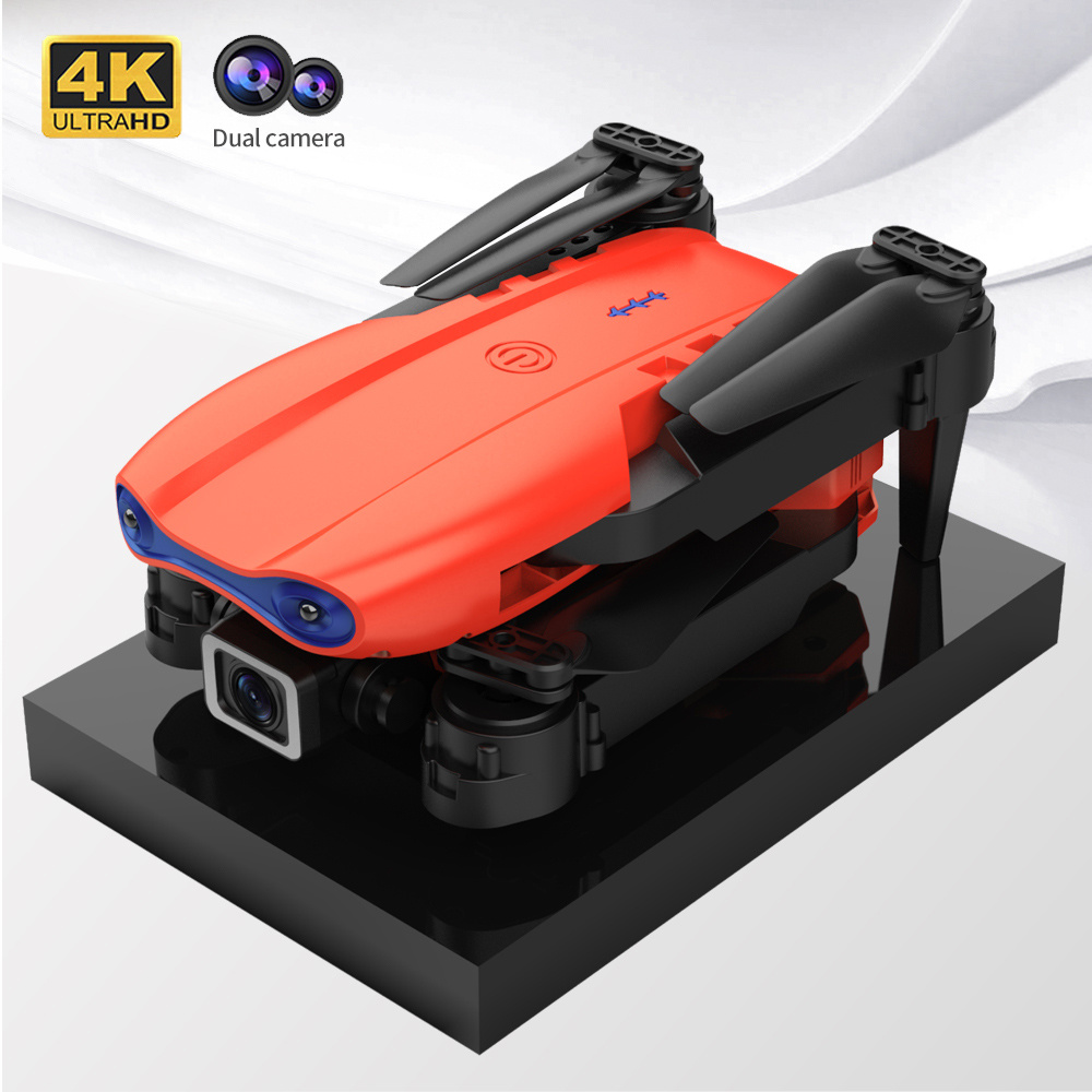 Folding UAV Professional Drones with 4K 2 Axis HD Double Camera RC Distance 3KM Brushless Self Stabilization Quadcopter FPV Dron