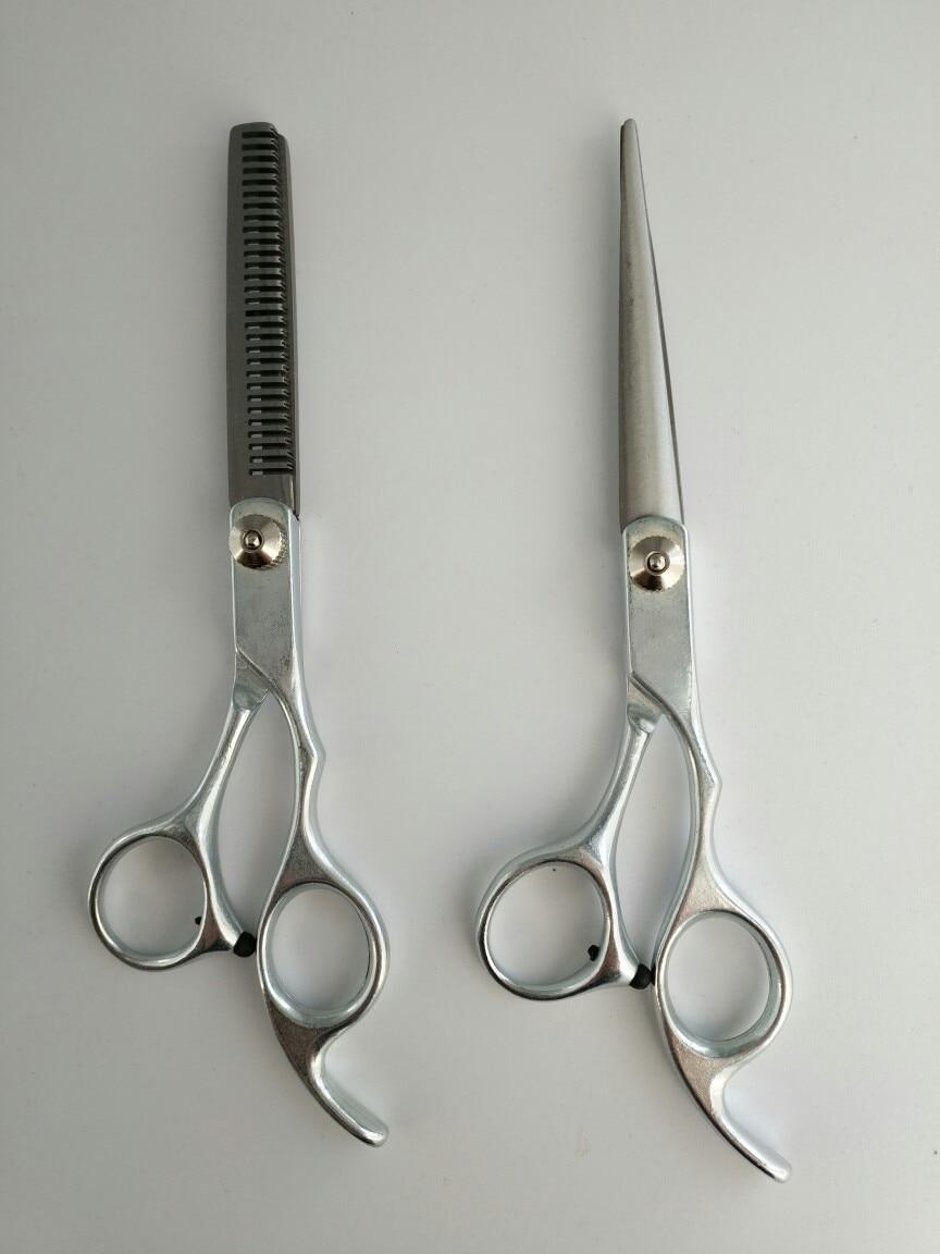 Magic Bird Top Grade Hand-Type Split Type Shear 6-Inch Straight Snips 6-Inch Thinning Scissors