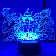 3d-Lamp Led-Night-Light Luffy-Figure Anime One-Piece Changing-Luminaria USB Birthday-Gifts