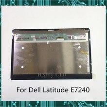 """Для DELL Latitude E7240 ЖК-экран в сборе сенсорный дисплей 12,"""" LP125WF1 SP A4 1920*1080 FHD хороший рабочий"""