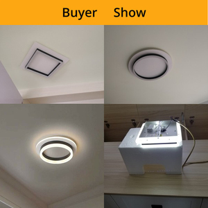 Image 5 - Modern chandelier lighting bedroom study restaurant balcony home decoration Lamparas remote control Dimming chandelier
