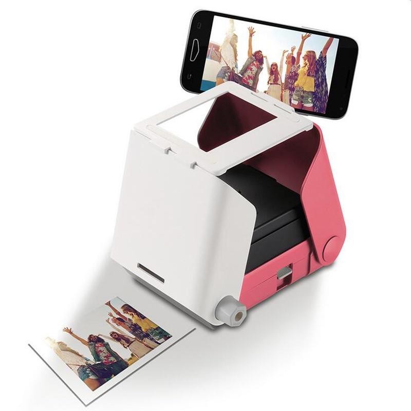 Photo Printer Portable Smartphone Picture Print Now No Battery Required Retro Printers
