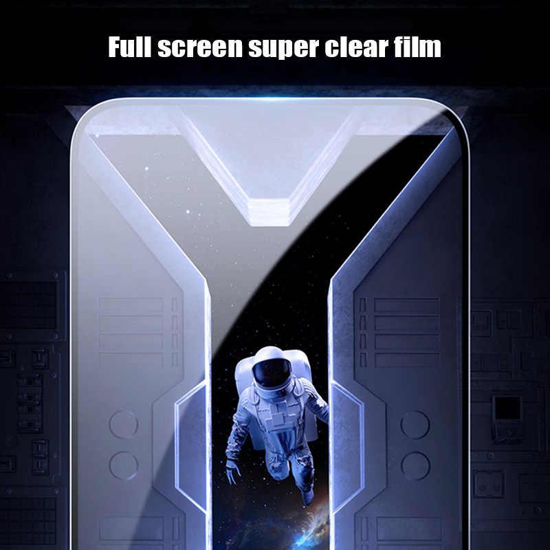 111D kapsama temperli cam onur 7S 8S 20S 10i 20i koruyucu film tüm tutkal ekran koruyucu onur 8 9 10 20 Lite