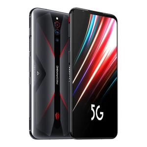 "Image 4 - الإصدار العالمي النوبة الأحمر ماجيك 5G الهاتف المحمول 6.65 ""AMOLED NFC Snapdragon865 الهاتف الذكي 4500mAh كاميرا خلفية 64MP لعبة الهاتف"
