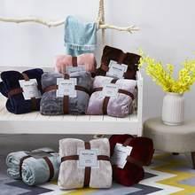 30 thow cobertor sólido 380gsm engrossar mais quente sherpa cobertor para cama coral velo sofá manta colcha para o inverno