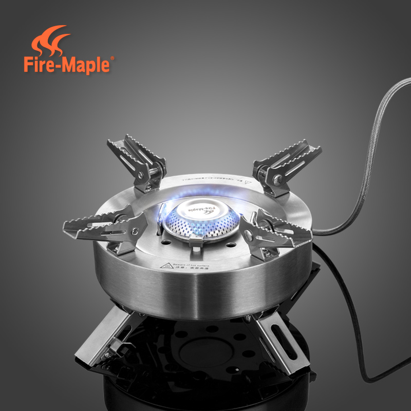 Fire Maple Gas Burners Camping Equipment Ultralight Foldable Burners power 11000W Split Gas Stove Outdoor Camping Stove