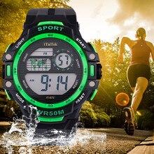 50M Waterproof Watch Men Sports Watch Ki