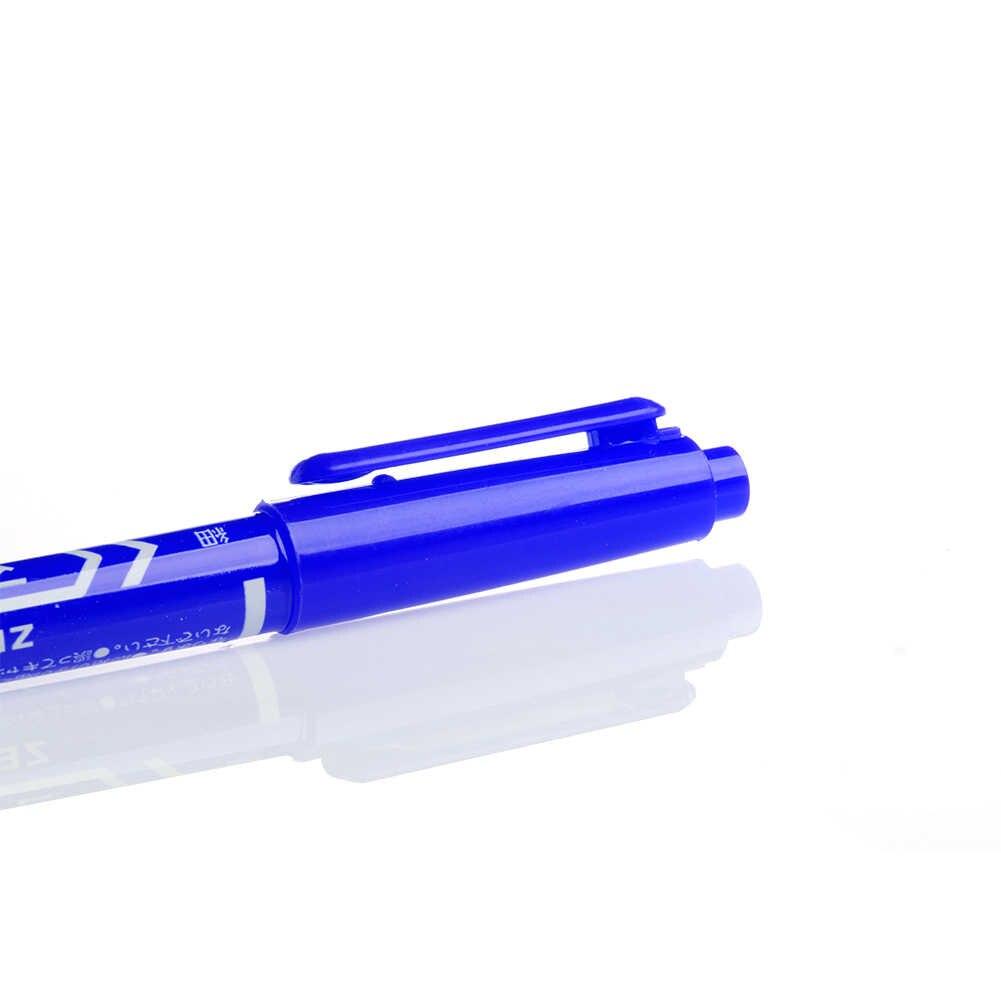 Marcatore permanente Raddoppiato il Gancio di Testa Linea di Fine/Penna di Spessore Strumento di Inchiostro Impermeabile H7EA