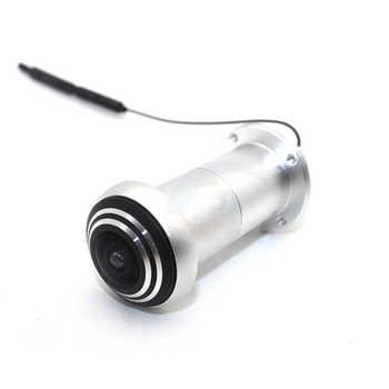 ICsee Wireless Door Eye Hole Security 1080P HD 1.66mm FishEye CCTV Network Mini Peephole Door Wifi Camera P2P Audio TF Card Slot