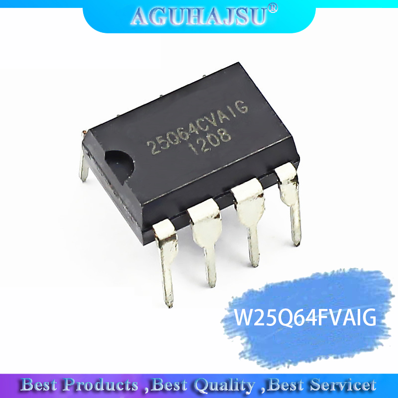 1pcs/lot W25Q64FVAIG W25Q64BVAIG W25Q64 25Q64FV DIP8