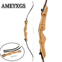 1pc 62/66/68/70inch Recurve Bow 24-40lbs log Long Sports Game Training Profession Shooting Motion Field Hunting