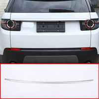 For Land Rover Discovery Sport 2015 2016 2017 Car Accessories ABS Chrome Gloss Tail Door Lid Strips Trim