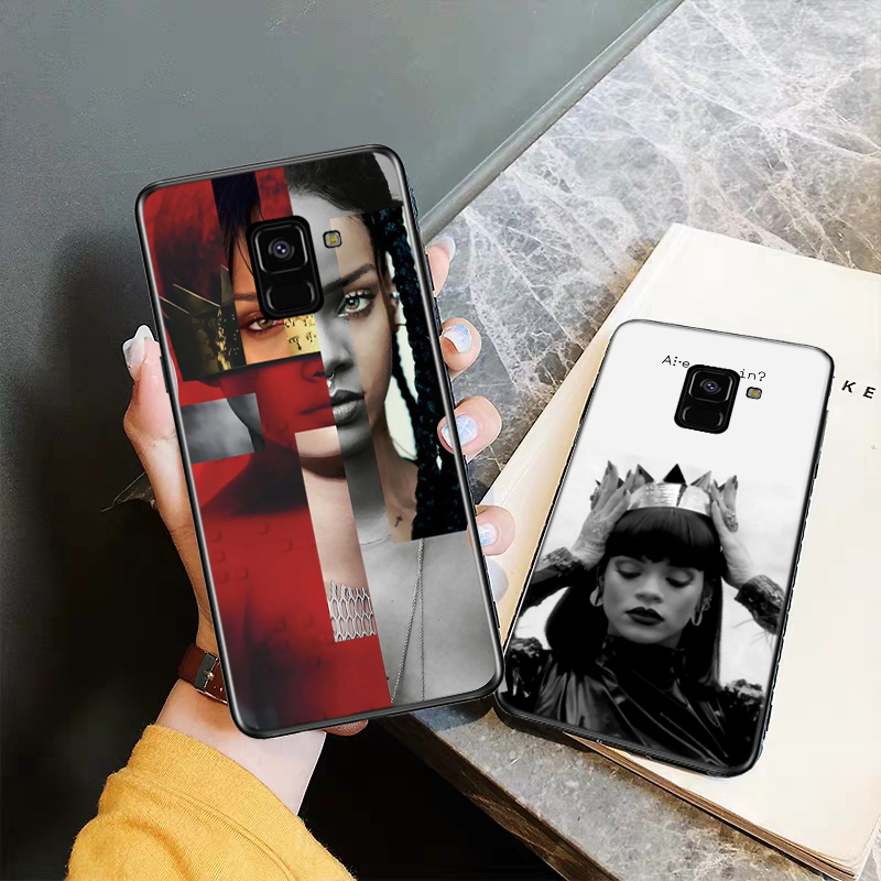 Rihanna Cute Wallpaper Pictures Silicone Case For Samsung J4 Core 2018 Plus J6 Prime J7 Duo J8 2018 Note 8 9 10 Aliexpress Mobile