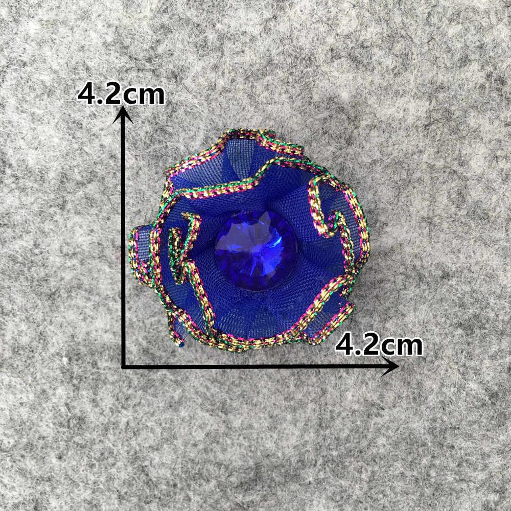 Cintura di sabbia Strass 3D artificiale Paillettes fiore Di Natale decorazione della casa del Mestiere di DIY Della Parete Del Fiore Scrapbook Regalo Accessorio