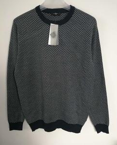 Image 2 - 2019 Fall Winter Men Merino Wool Sweater Thick Warm Pullovers Crew Neck Merino Wool Sweater Pull Homme European Size S 2XL