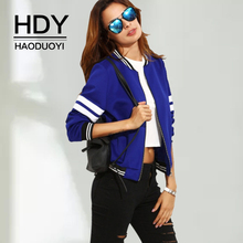 HDY Haoduoi 2019 Autumn New Fashion Womens Casual Tops Styli