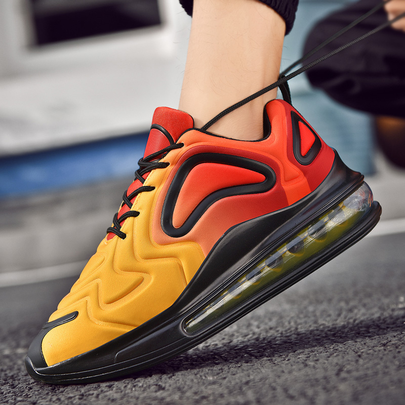 2020 Mesh Cushion Shoes Running Sneakers Men New Casual Shoes Men Comfortable Luminous Fashion Sneakers Breathable Sports Shoes