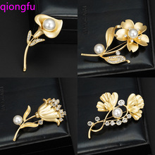 Fashionable Opal Stone Flower Brooch Pin Garment Accessories Birthday Gift brooches for women rhinestone brooch Pin cindy xiang rhinestone large pin brooches for women vintgae sweater pin fashion design wedding brooch high quality new 2020