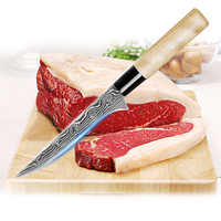 Boning Knife 6 inch Japanese professional Sashimi Sushi Knife Cleaver Butcher Knife for Ribs Steak Meat Fish Kitchen Accessories