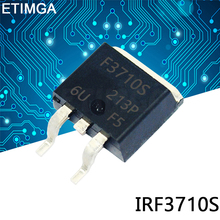 10 sztuk partia IRF3710S TO-263 F3710S 3710S TO263 IRF3710 MOSFET N-CH 100V 57A D2PAK IRF3710STRLPBF tanie tanio CN (pochodzenie) Nowy REGULATOR NAPIĘCIA do komputera