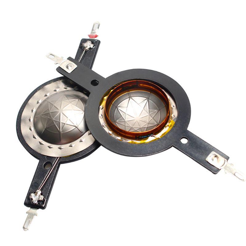 2PCS 25.4mm Titanium Diaphragm Treble Ring Voice Coil 25.5 Core Tweeter Diaphragm Film Speaker Accessories DIY REpair Parts
