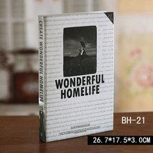 Украшение дома Опора украшения для книг простой современный