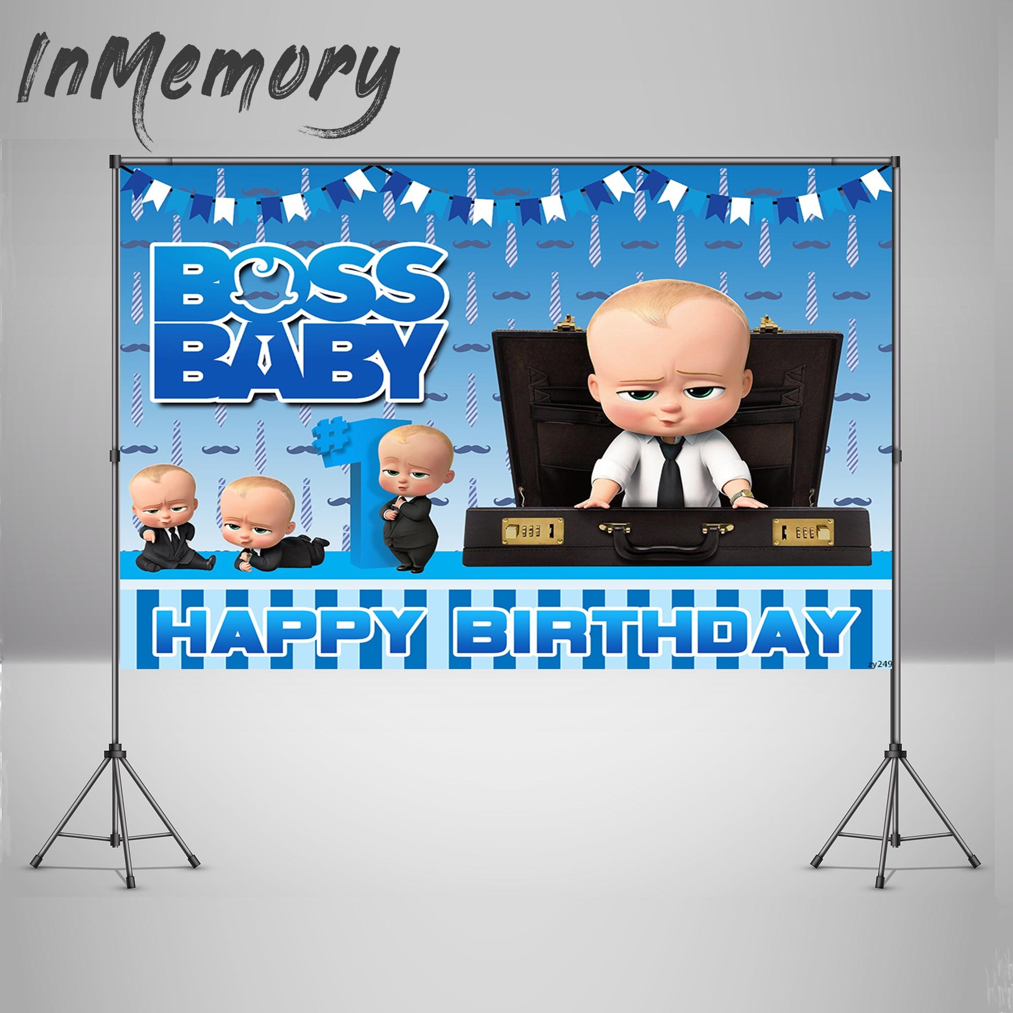 Boss Baby Banner