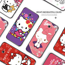 For Samsung Galaxy J7 Prime Shockproof Cartoon Hello kitty Soft Silicone TPU Case Cover For Samsung J5 Prime J2-Prime Shell(China)