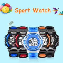 Get more info on the New Waterproof Kids Watch Boys Girls Digital LED Sports Watches Plastic Children reloj Alarm Date Casual Watch Best Gift for kid