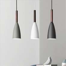 Nordic Iron Hanging Pendant Lamp Modern Minimalist Bedroom Bedside Pendant Lights Restaurant Industrial Decor Lighting Fixtures pendant light for restaurant 5 8 heads beanstalk dna molecules vintage pendant lamp nordic iron pendant lighting glass shades