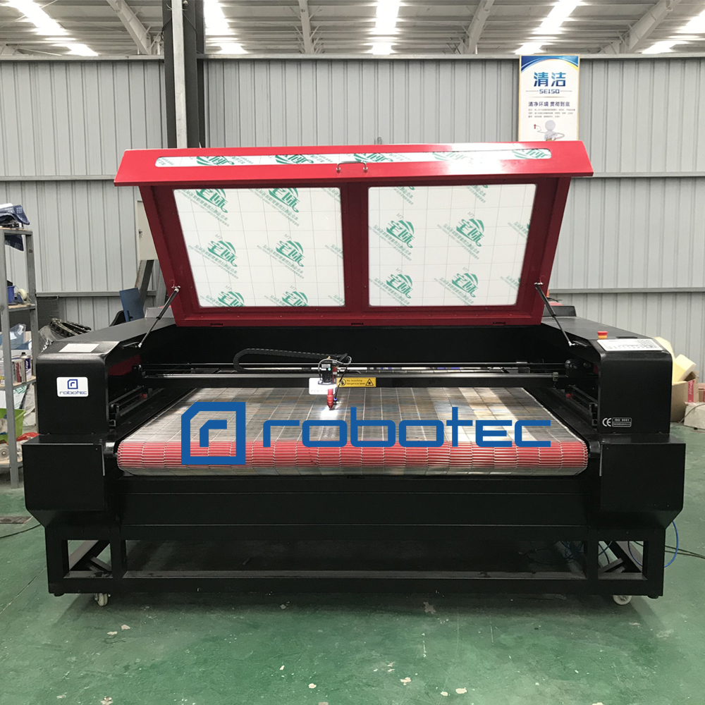 1610 Auto Feeding Table LaserFabric Cutting Machine withRred Fot/CO2 Fabric Lazer Cutter for sale/100W Textile Engraving Machine Machines Textile