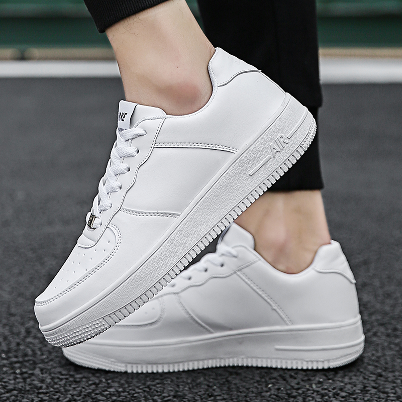 2020 New Sneaker Men Comfortable <font><b>Skateboard</b></font> <font><b>Shoes</b></font> Wear Men's <font><b>Shoes</b></font> Breathable Casual <font><b>Shoes</b></font> Classic White <font><b>Shoes</b></font> Zapatos Hombre image