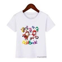 Oddbods dos desenhos animados crianças roupas 2021 nova impresso meninos camiseta verão manga curta moda casual bonito meninas t camisa por atacado