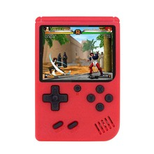 2021 gameboy clássico 3 Polegada vídeo game console av para fora apoio dois jogadores juntos retro 400 jogos em 1 gameplayer para presentes do menino