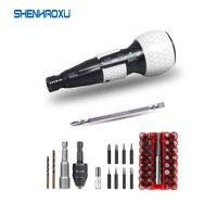 Destornillador eléctrico de 3,6 V, taladro inalámbrico, batería de litio de 1800mah, Mini herramientas eléctricas de gran torsión, luz Led automática y Manual